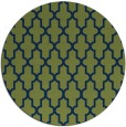rug #181837 | round blue traditional rug