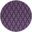rug #181897 | round purple traditional rug
