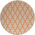 rug #181997 | round beige traditional rug