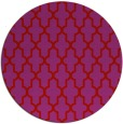 rug #182053 | round red traditional rug