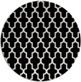 rug #182073 | round white traditional rug