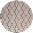 rug #182141 | round pink traditional rug