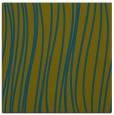 rug #182565 | square blue-green stripes rug