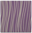 rug #182685 | square purple stripes rug