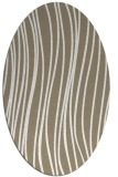 rug #182857 | oval white natural rug