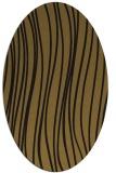 rug #182973 | oval mid-brown natural rug
