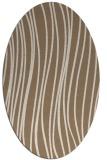 rug #183010 | oval stripes rug