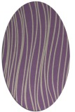 rug #183037 | oval purple natural rug