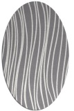 rug #183042 | oval stripes rug