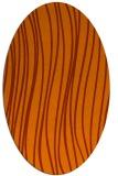 rug #183113 | oval red-orange rug