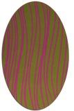 rug #183186 | oval stripes rug