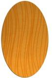 rug #183201 | oval light-orange stripes rug