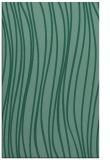 rug #183265 |  blue-green stripes rug