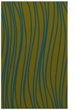 rug #183269 |  blue-green stripes rug