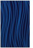 rug #183377    blue stripes rug