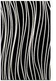 rug #183481    black stripes rug