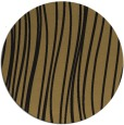 rug #183581 | round mid-brown stripes rug