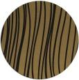 rug #183581 | round mid-brown stripes rug