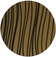 rug #183677 | round mid-brown stripes rug