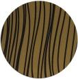 rug #183677 | round mid-brown stripes rug
