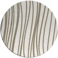 rug #183701 | round mid-brown stripes rug