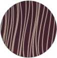 rug #183717 | round pink stripes rug