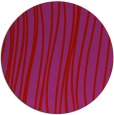 rug #183813 | round red natural rug
