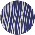 rug #183841   round white stripes rug