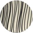 rug #183869 | round black natural rug