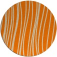 rug #183877 | round orange popular rug