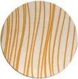rug #183909 | round light-orange natural rug