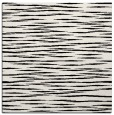 rug #186297 | square white stripes rug
