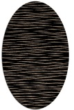 rug #186389 | oval beige stripes rug