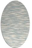 rug #186401 | oval blue-green natural rug