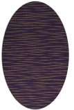 rug #186609 | oval mid-brown natural rug