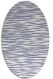 rug #186657 | oval blue popular rug