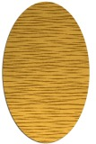 rug #186681 | oval yellow natural rug