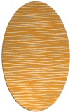 rug #186725 | oval white stripes rug