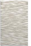 rug #186729    white stripes rug