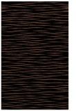 rug #186745 |  black stripes rug