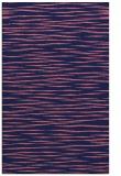 rug #186821 |  blue-violet stripes rug