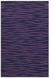 rug #186825 |  purple stripes rug