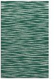 rug #186861 |  green stripes rug