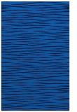rug #186897 |  blue stripes rug