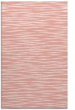 rug #186949    pink stripes rug
