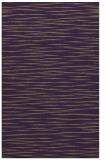rug #186961 |  purple stripes rug