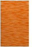 rug #186989 |  red-orange stripes rug