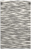 rug #187001 |  white stripes rug