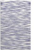 rug #187009 |  blue stripes rug