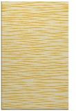 rug #187017 |  yellow stripes rug